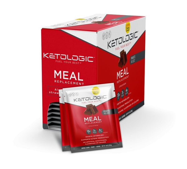 SINGLE SERVE - KETO - MEAL REPLACEMENT™ | KETOLOGIC - Tassie Supps - KETO