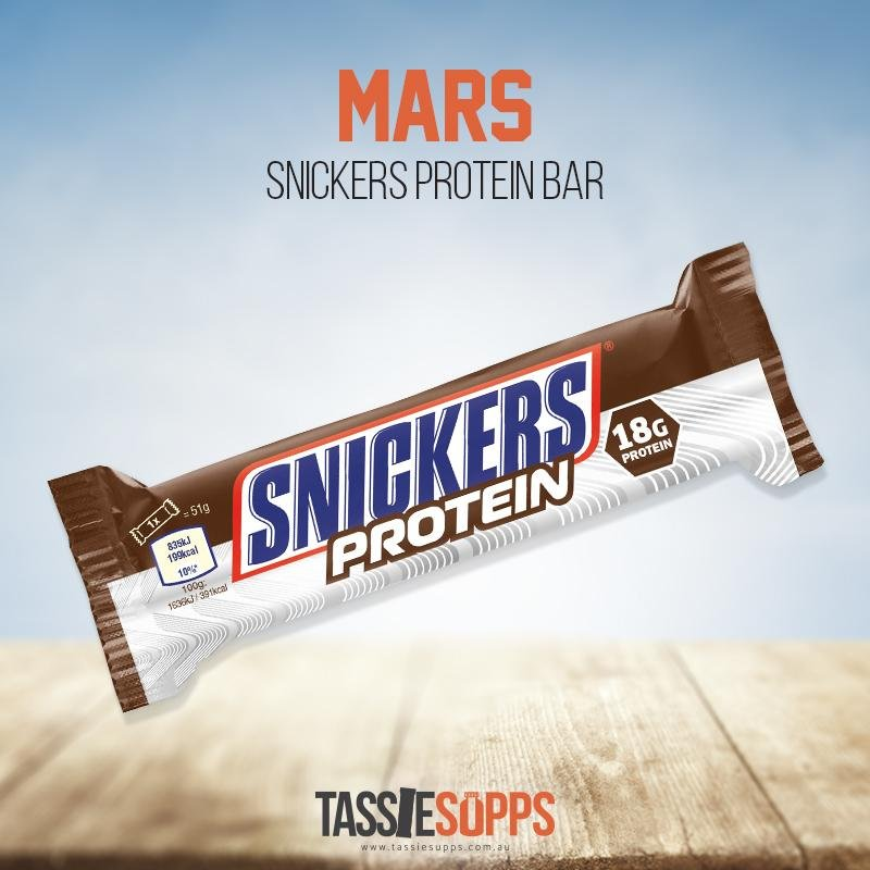 SNICKERS PROTEIN BAR | MARS - Tassie Supps - Snacks
