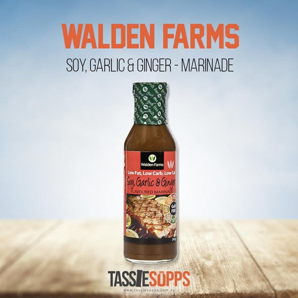 SOY GARLIC GINGER - MARINADE - GUILT FREE | WALDEN FARMS - Tassie Supps - PANTRY