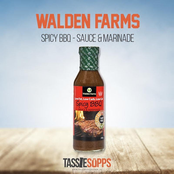 SPICY BBQ - SAUCE & MARINADE - GUILT FREE | WALDEN FARMS - Tassie Supps - PANTRY
