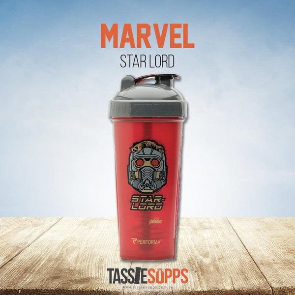 STARLORD - SHAKER CUP - MARVEL HERO AVENGERS INFINITY SERIES | PERFECT SHAKER - Tassie Supps - Shakers / Bottles