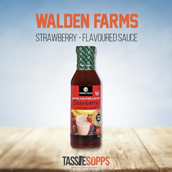 STRAWBERRY SYRUP - GUILT FREE | WALDEN FARMS - Tassie Supps - PANTRY