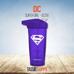 SUPER GIRL - ACTIV SHAKER CUP - DC | PERFROMA - Tassie Supps - Shakers / Bottles