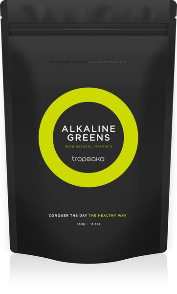 SUPERFOOD GREENS + D | TROPEAKA - Tassie Supps - GUT HEALTH / GREENS / ETC