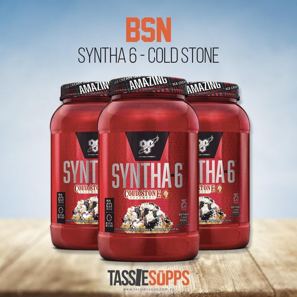 SYNTHA 6 - COLD STONE - PROTEIN ICE CREAM | BSN - Tassie Supps - PROTEIN - DAIRY BASED