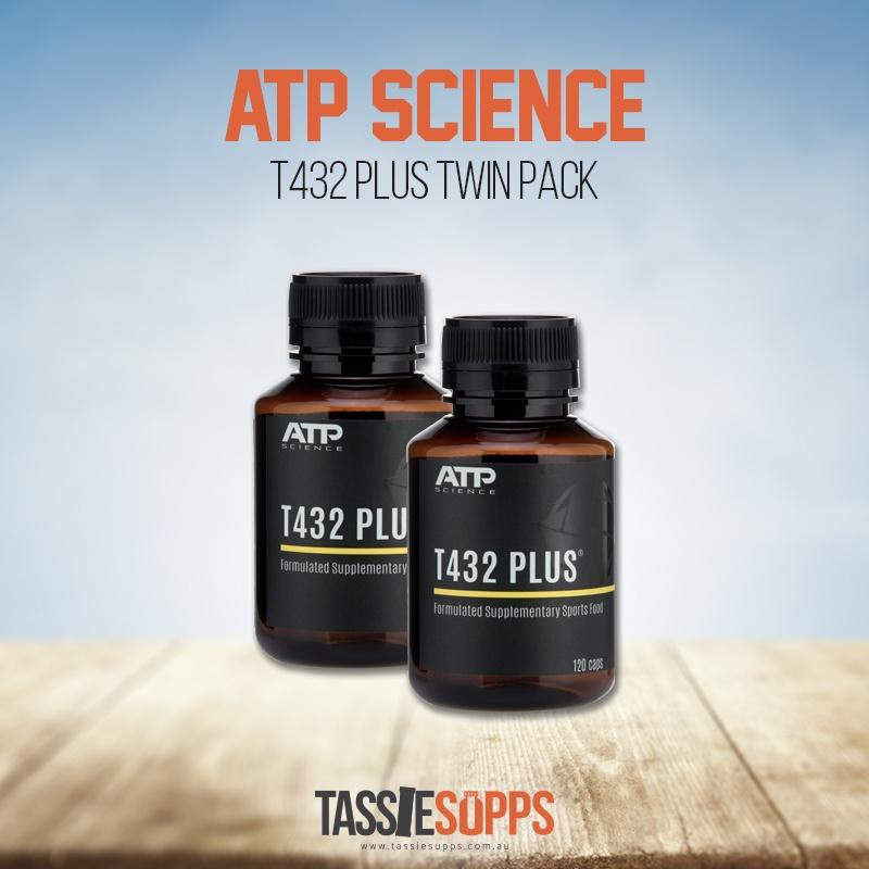 T432 PLUS - TWIN PACK | ATP SCIENCE - Tassie Supps - HORMONE SUPPLEMENTS
