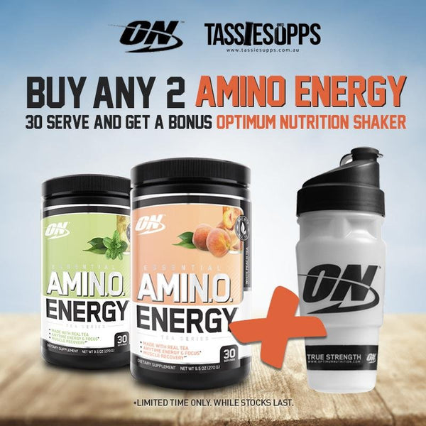 TEA SERIES - ESSENTIAL AMINO ENERGY | OPTIMUM NUTRITION - Tassie Supps - AMINO's