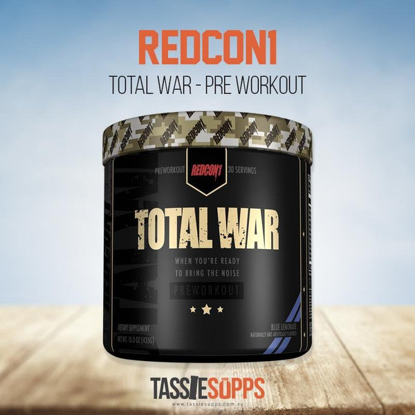 TOTAL WAR | REDCON1 - Tassie Supps - Pre-Workout