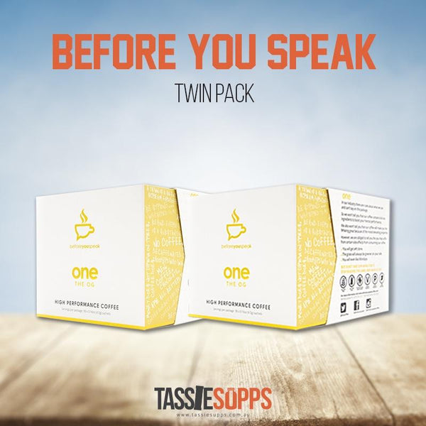 TWIN PACK - HIGH PERFORMANCE COFFEE ASSORTED BOX - COFFEE | BEFORE YOU SPEAK - Tassie Supps - KETO