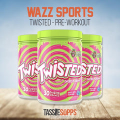 TWISTED - PRE-WORKOUT | WAZZ SPORTS - Tassie Supps - Pre-Workout
