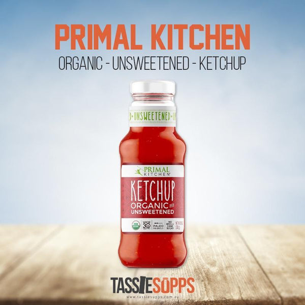 UNSWEETENED KETCHUP | PRIMAL KITCHEN - Tassie Supps - PANTRY