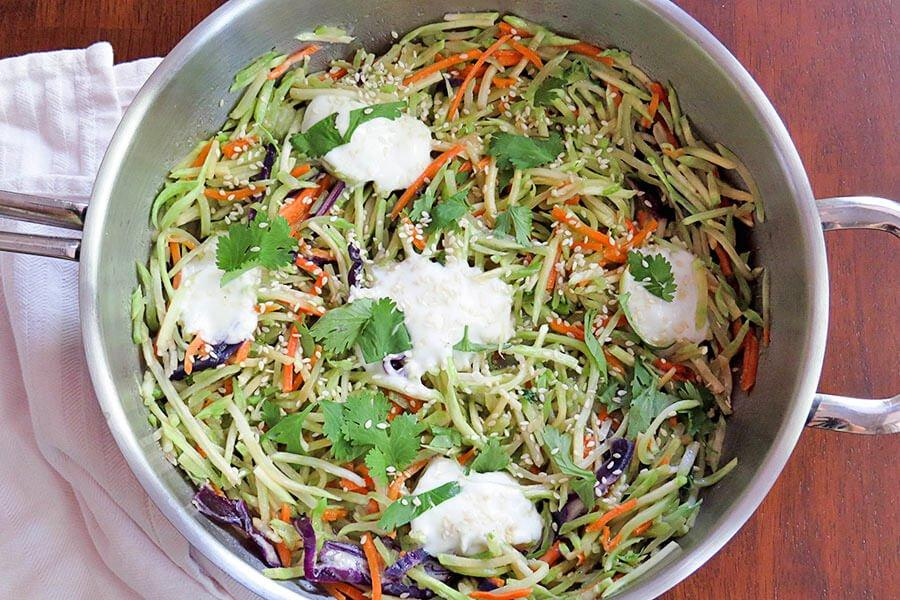 Warm Asian Broccoli Salad - Tassie Supps -