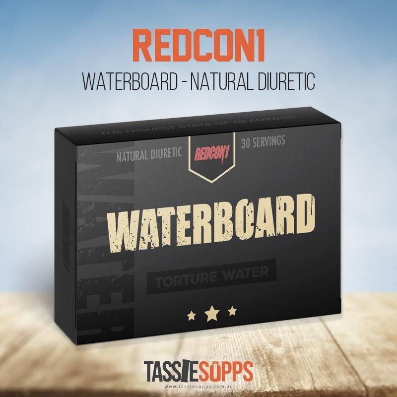WATER BOARD - NATURAL DIURETIC | REDCON1 - Tassie Supps - FAT BURNERS / DETOX / WEIGHT LOSS