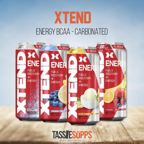 XTEND BCAA ENERGY - CARBONATED | XTEND - Tassie Supps - Ready To Drink (RTD)
