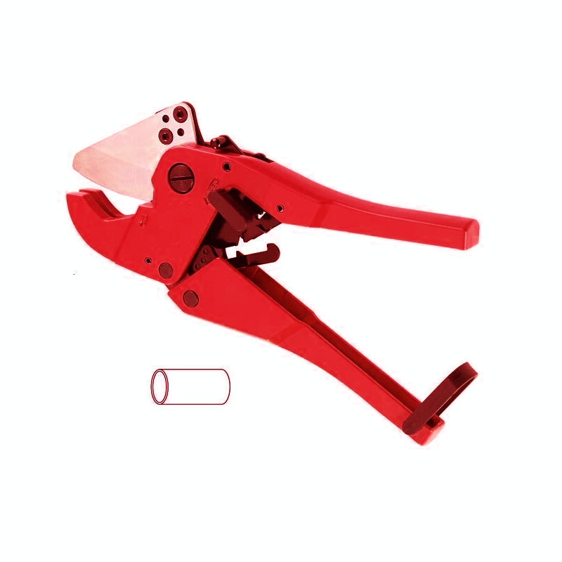 Pvc Pipe Cutting Hand Tool Cutter for Plastic Pipes Diameter 6-42mm