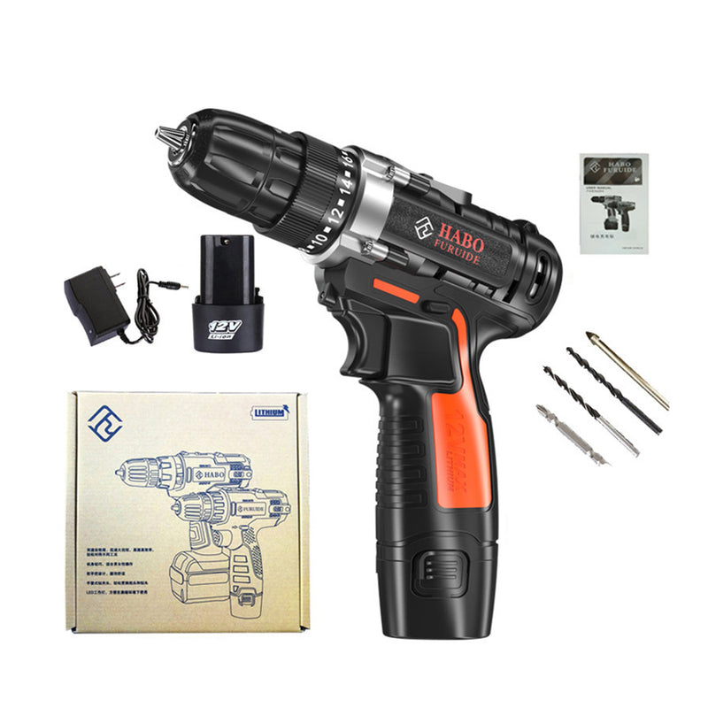 ED05 12V Cordless Drill Screwdriver Driver Hand Electric Drills power drill machine With Power Electrical Tools Rechargeable