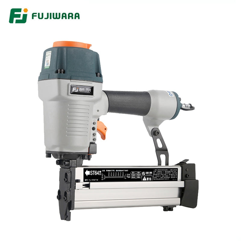 FUJIWARA T50/ST64 Pneumatic Nail Gun Double-use Air Stapler Home DIY, Home Decoration, ST18-ST64