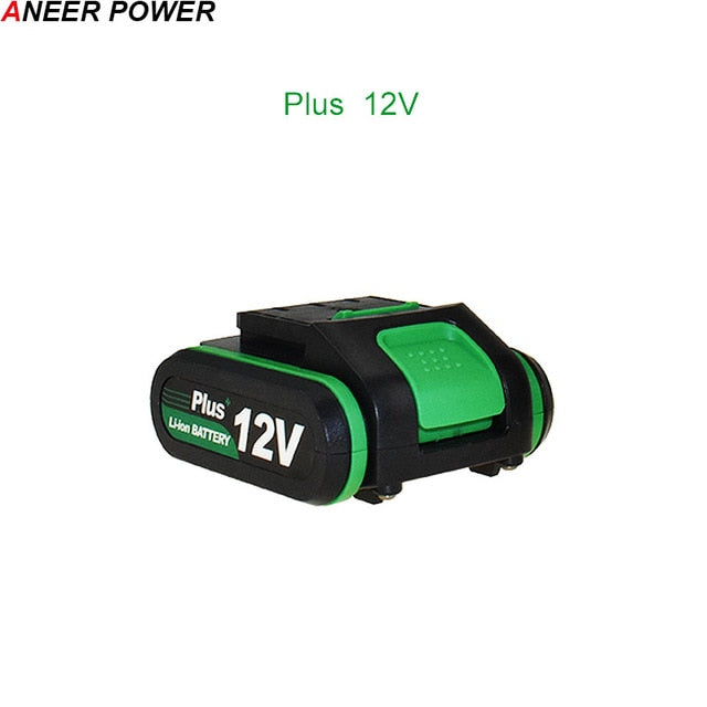 High Quality 25V-12V Plus Lithium Battery Li-ion Battery For Power Tools Rechargeable Impact Drill Cordless Screwdriver Battery