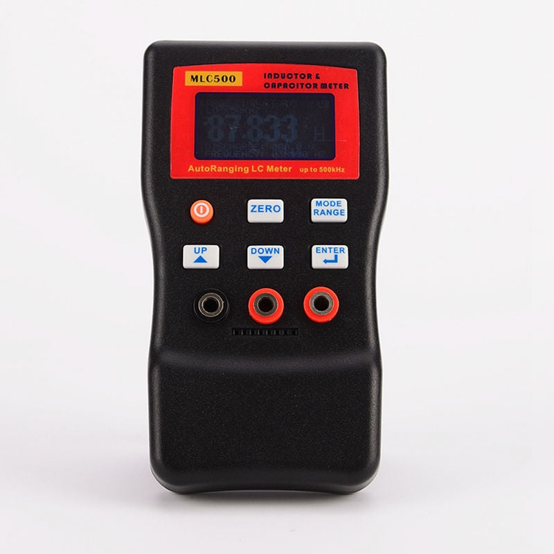 Hot Sale High Accuracy Electronic Capacitance Digital Bridge LC Meter MLC500 Handheld Inductance Meter 1% Accuracy 500KHz Test