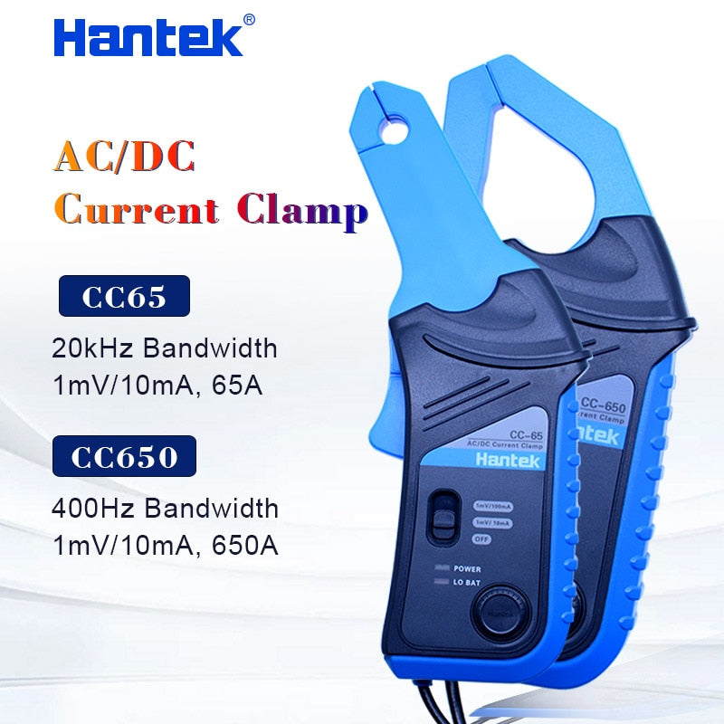 Hantek CC650 ac dc current clamp meter current clamp cc65 handheld oscilloscope multimeter with BNC Connector