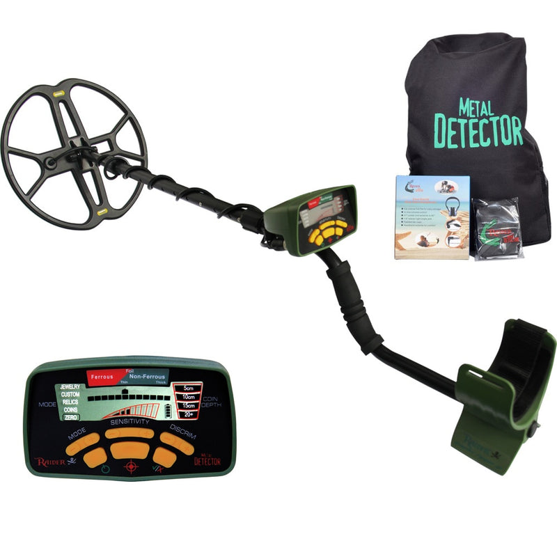 MD-6350 Metal Detector with 12'' inch Butterfly Coil Waterproof Gold Detector Treasure Hunting Professional Metal Detector