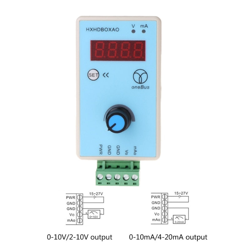 Output 0-10V 0-20mA Handheld Current Voltage Signal Generator Analog Simulator LS'D Tool qiang