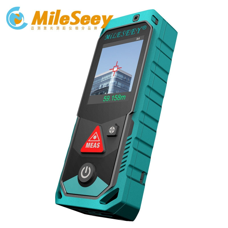 Mileseey P7 80 M 100 M 150 M 200 M Bluetooth camera finder point rotary Touchscreen Rechargerable Laser Meter free shipping