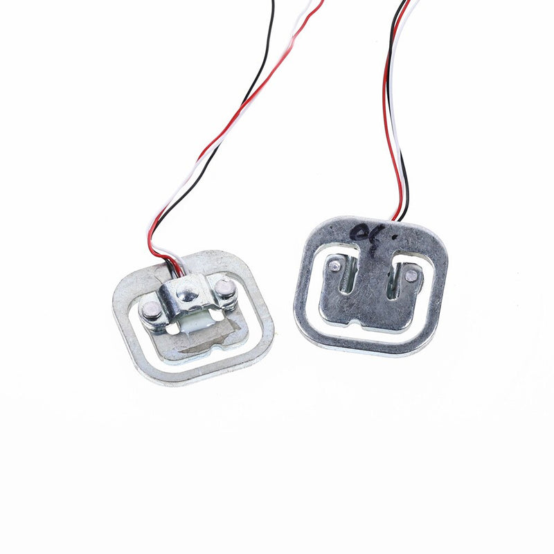 2pcs  50kg Body Load Cell Weighing Sensor Resistance Strain Half-bridge Total Weight Scales Sensors Measurement Tools