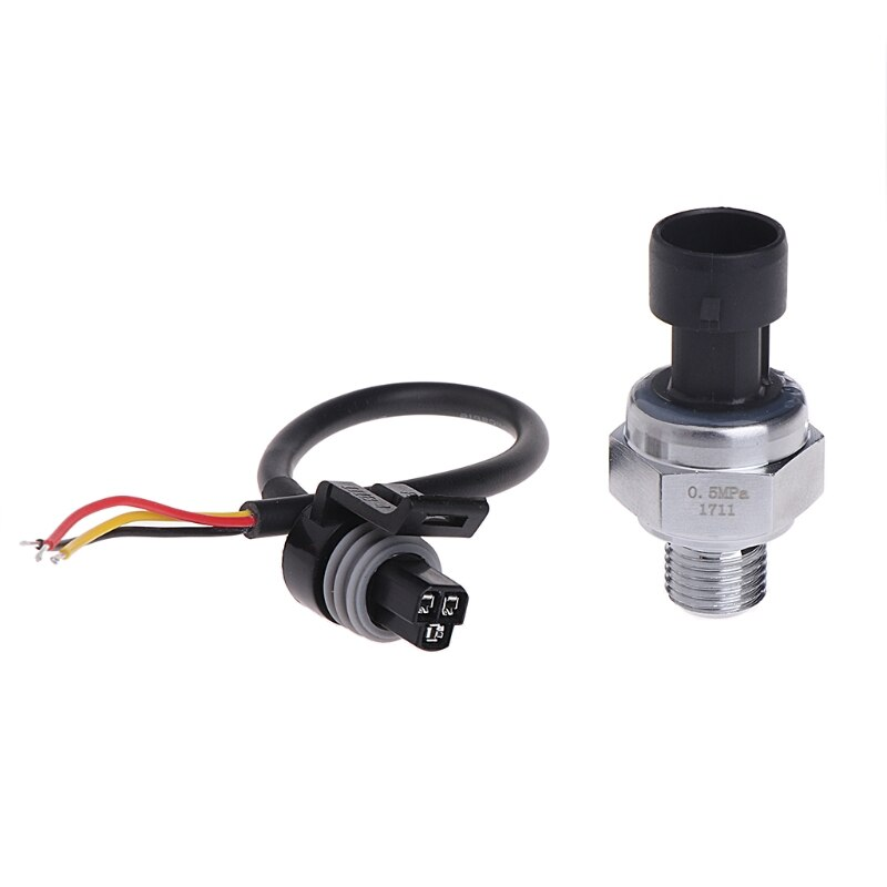 G1/4 Inch 5V 0-0.5 MPa Pressure Transducer Sensor Oil Fuel Diesel Gas Water Air