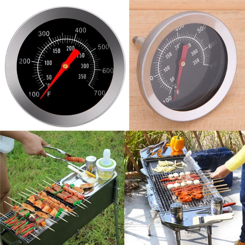 Stainless steel BBQ Accessories Grill Meat Thermometer Dial Temperature Gauge Gage Food Probe Household Kitchen Cooking Tools