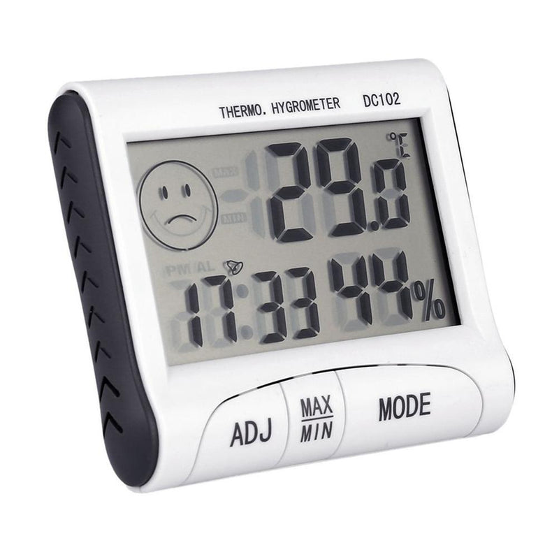 Mini Digital Weather Thermometer Hygrometer Humidity Meter Home Room Temperature Meter Indoor LCD Display Tools