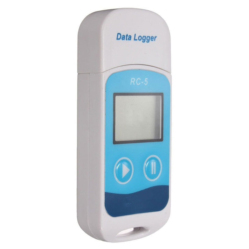 High Accuracy Portable USB Temperature Data Logger Temperature Sensor Meter Temperature Recorder Thermometer Measuring Tester