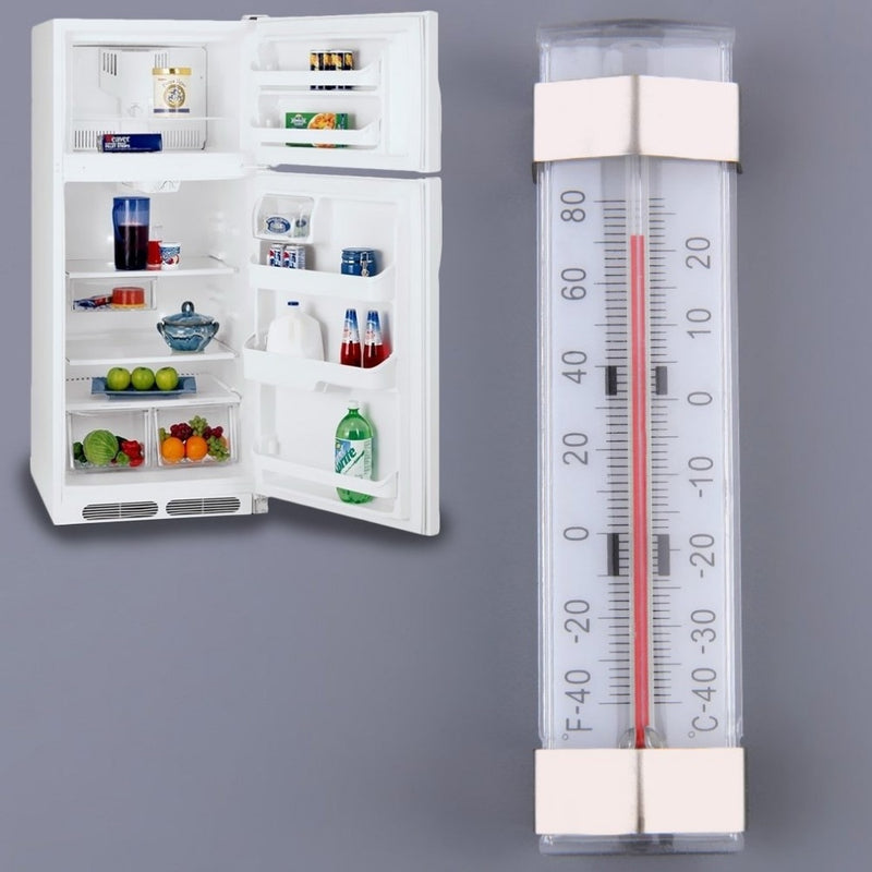 ACEHE Portable Kitchen Thermometers Shelf Hanging Fridge Freezer High Precision Traditional Temperature Thermometer For Home