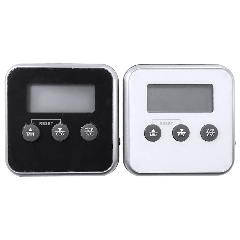 Digital Oven Thermometer Kitchen Food Cooking Meat BBQ Probe Thermometer With Timer Water Milk Temperature Cooking Tools