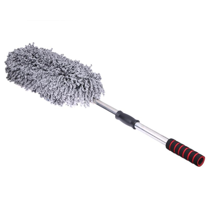 Car cleaning brush car duster dust wax drag wax shan wax brush dust long handle brush Wiper Cloth Clean Tools NG4S