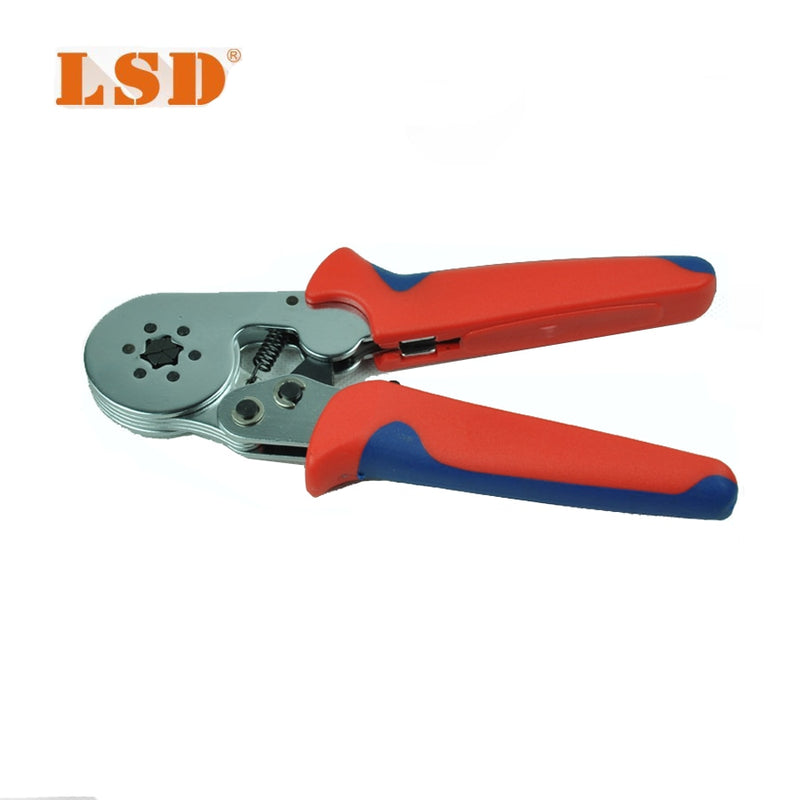 terminal crimping tool bootlace ferrule crimper 0.25-6mm2 self-adjusting cable-end sleeve crimping pliers LSC8-6-6