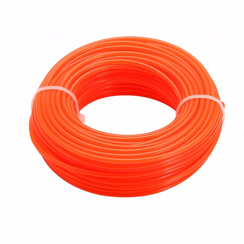 1Spool 15m x 2.4mm Grass Cut Strimmer Line Nylon Cord Wire String for Grass Trimmer Hot Selling Trimmer Lines
