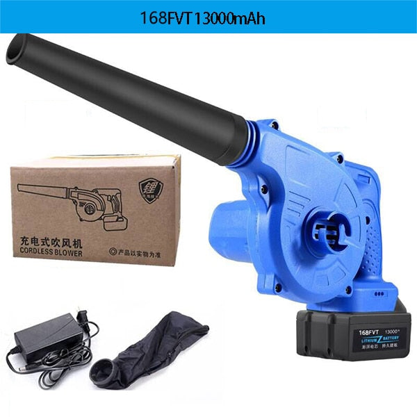 220V 27000mAh Cordless Lithium Battery Electric Air Blower Blowing and Sucking Dual-useDust Computer cleaner Electric Turbo Fan