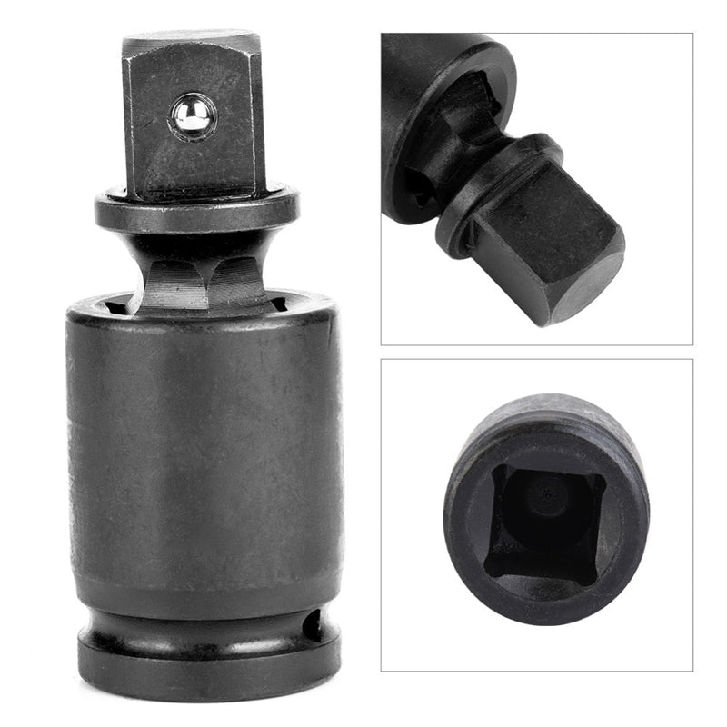 "Universal Pneumatic Joint Wrench Socket Adapter Set 1/4"" 3/8"" 1/2"" 1"" Drive 90 Degree Ratchet Universal Joint Adapter"
