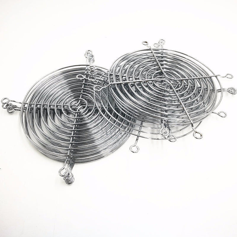 10 PCS 120mm Metal  Cooling Fan Grill Cover Radiating Protective Cover Net Filter Guard 120x120mm 12cm Fan Iron Net