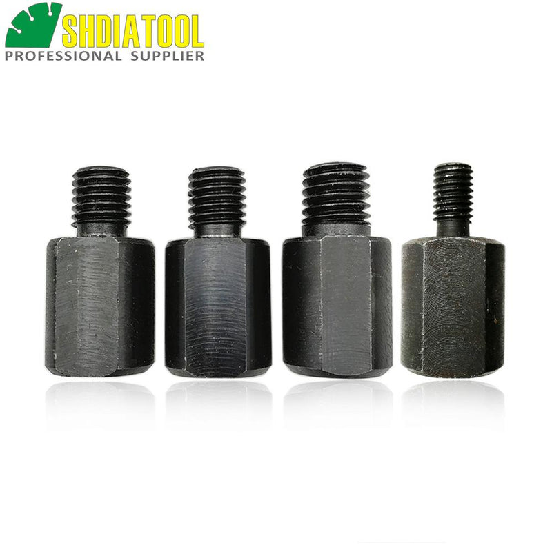 SHDIATOOL 1pc Adapter Can Change Thread For M14 To M10, M14 To 5/8, 5/8 To M14, M10 To M14, Drill Core Bits Adapter Converter