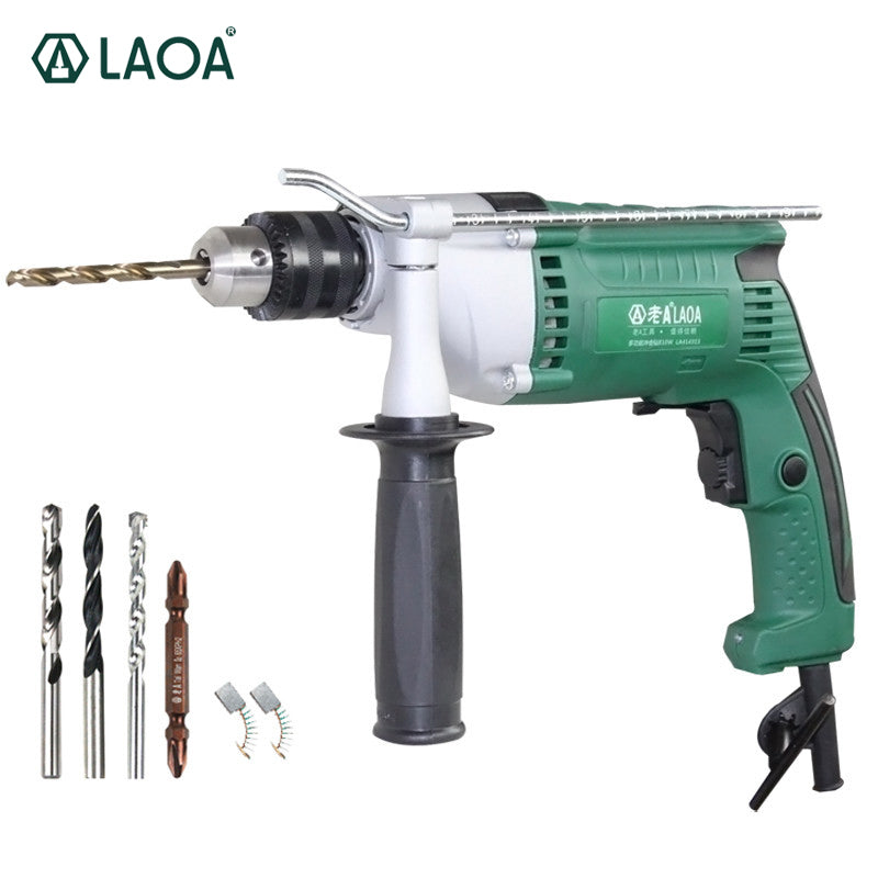 LAOA Brand 810W Multifunction Electric Drills Impact Drill Power Tools for Drilling Ceramic Cement Steel board