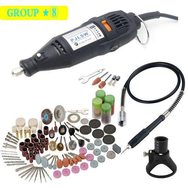 Electric Rotary Tool Speed Change Small Electric Drill 220V / 110V 180W (Dremel Type) High Quality
