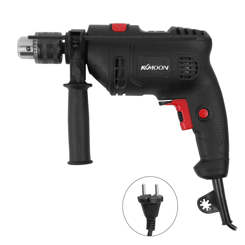 High Power Electric Impact Drill Electric Hammer Dual-use Adjustable Speed Tool Kit for home Industry with Horizontal Bubble
