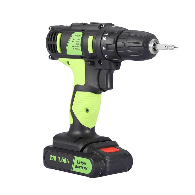 21V Electric Rechargeable Cordless Drill Screwdriver Handheld Professional Tool New 2019