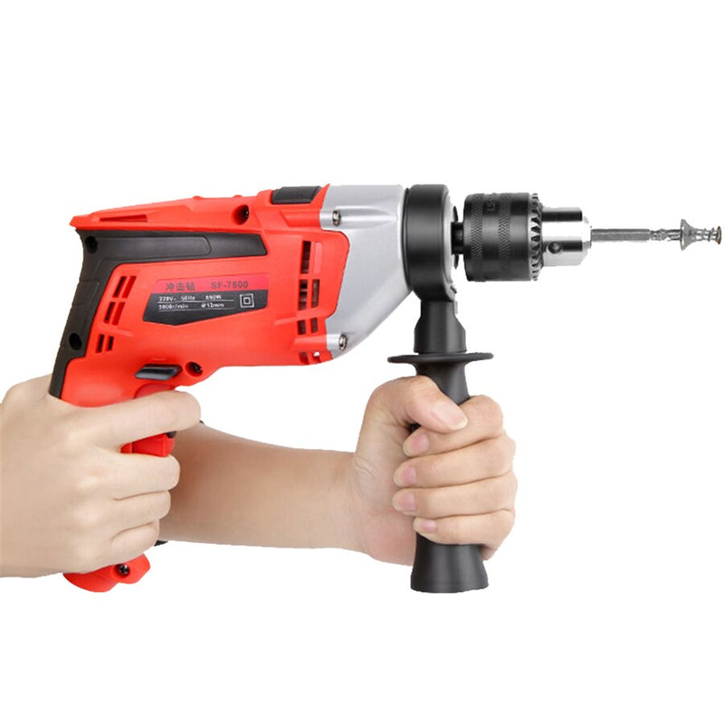 Electric drill home multi-function hand Drill 220v two pistols Drill hammer electric Tools