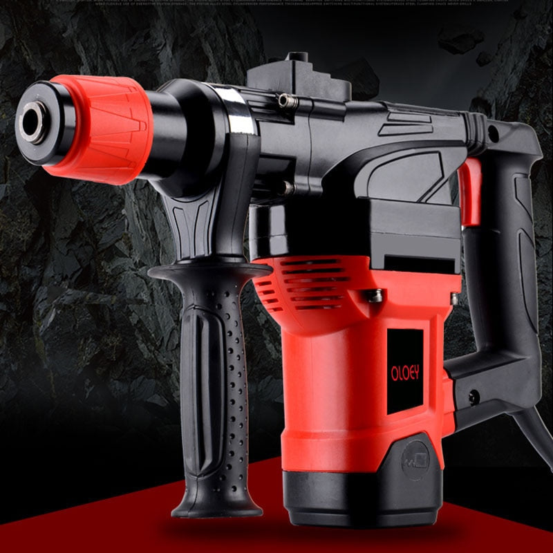 1800W 26mm Multi-function Electric Hammer Impact Drill Electric Hammers Power Drills 220-240v/50hz Light Electric Pick