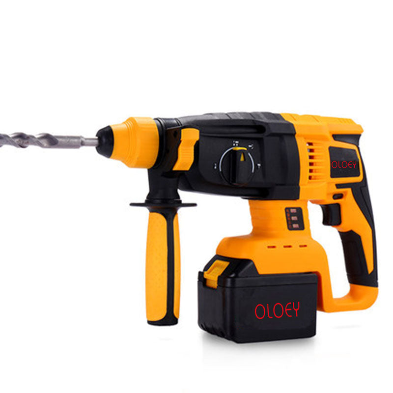 hammer rechargeable lithium battery impact drill  power tool Cordless drushless High-capacity lithium battery impact drll