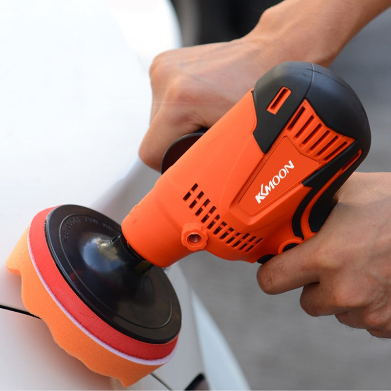 KKmoon 800W Adjustable Speed Car Electric Polisher Waxing Machine Automobile Furniture Polishing Tool