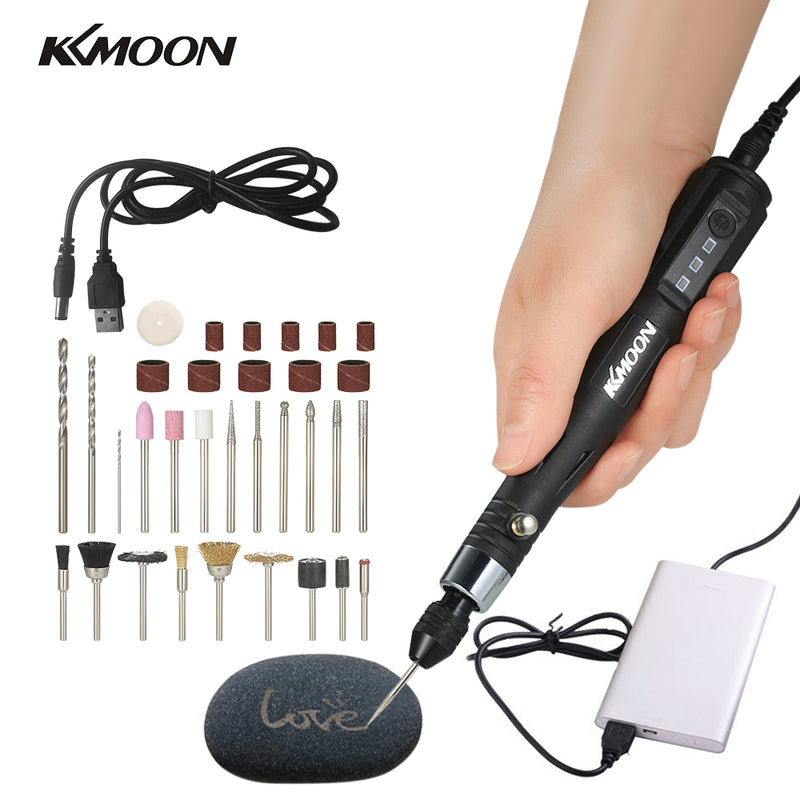 KKmoon 30W Mini Electric Grinder Grinder grinding machine sharpening Drill dremal Engraving Pen Grinding Milling Polishing Tools